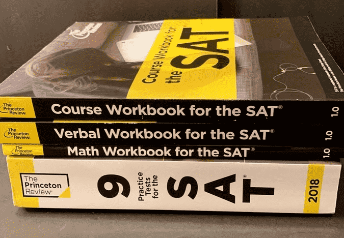 princeton review sat books