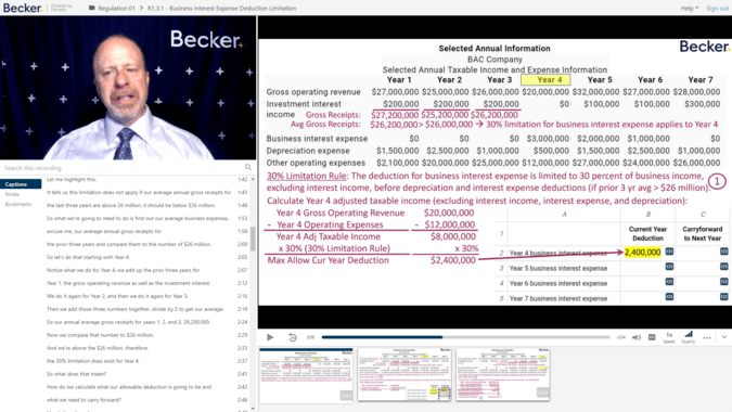 Becker CPA review simulation