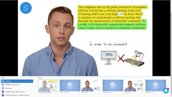 Blueprint lsat video lecture