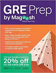 magoosh gre prep book
