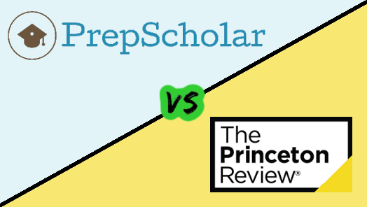 PrepScholar vs Princeton Review SAT & ACT